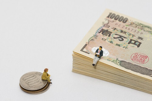 大学中退後の給料